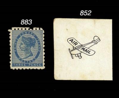 Air Mail Proof  1929-30 Air pr