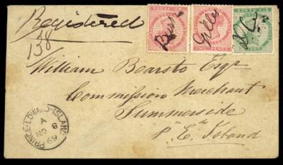 cover 1869 envelope
