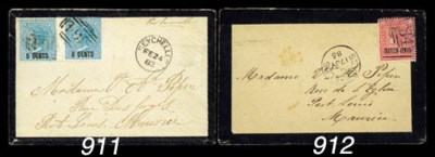 cover 1885 (17 July) mourning