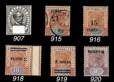 unused  1901 (June-Oct.) 3c. o