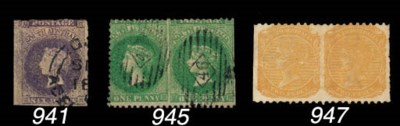 unused  1868-76 perf. 10 x rou