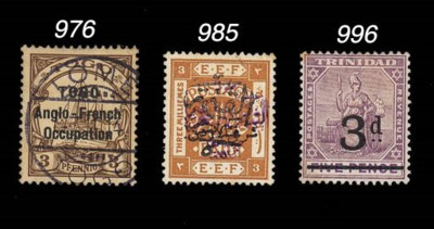 used  1914 (Oct.) 3pf. brown,