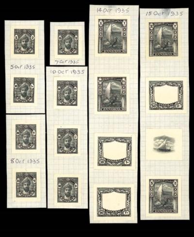 Proof  1936 (Jan.) die proofs