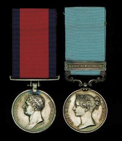 Pair: Lieutenant-Colonel L.M.