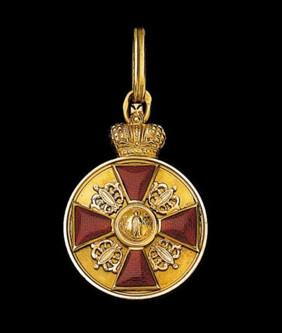 RUSSIA, Order of St. Anne, Med