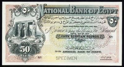 National Bank, uniface £50, 12