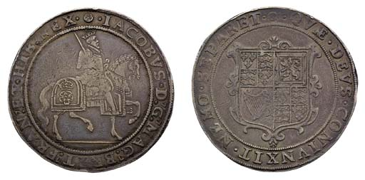 Second Coinage, Crown, m.m. ro