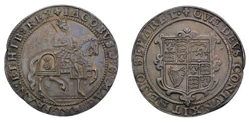 Third coinage, Crown, m.m. lis