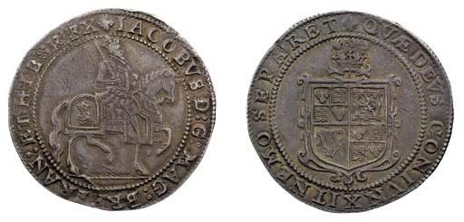 Third coinage, Crown, m.m. tre
