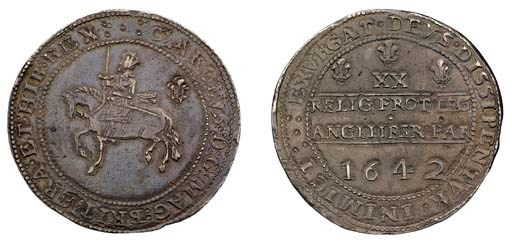 Shrewsbury mint, Pound, 1642,