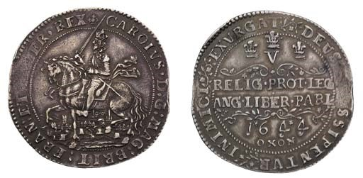 Oxford mint, Crown, 1644, 29.4