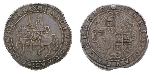 Exeter mint, Crown, no date, m