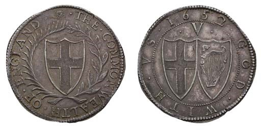 Crown, 1652, 2 over 1, similar