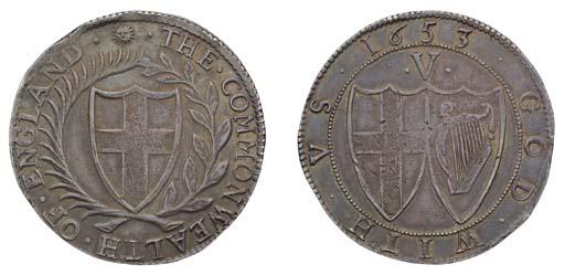 Crown, 1653, similar, 30.35g.