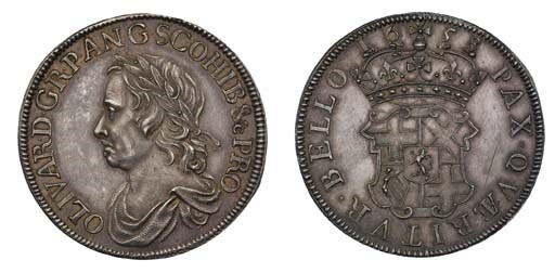 Crown, 1658, the