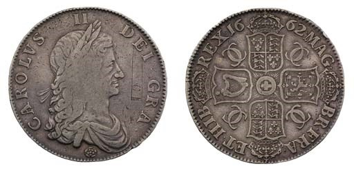 Crown, 1662, by John Roettier,