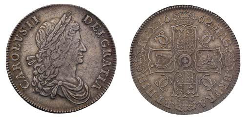 Crown, 1662, by John Roettier,