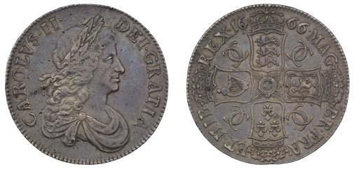 Crown, 1666, by John Roettier,