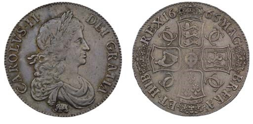 Crown, 1666, by John Roettier,