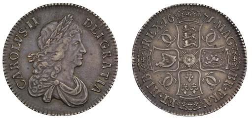 Crown, 1671, by John Roettier,