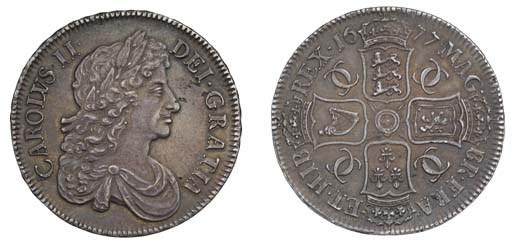 Crown, 1677, by John Roettier,