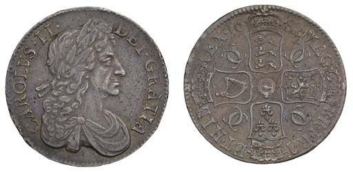 Crown, 1682, 2 over 1, by John