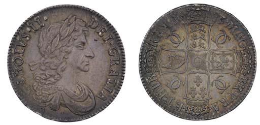 Crown, 1683, by John Roettier,
