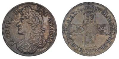 Crown, 1687, by John Roettier,