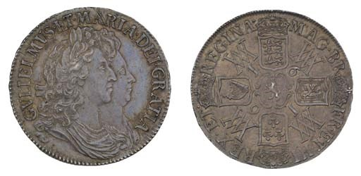 Crown, 1691, by James and Norb