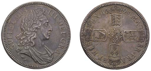 Proof Crown, 1695, by James Ro