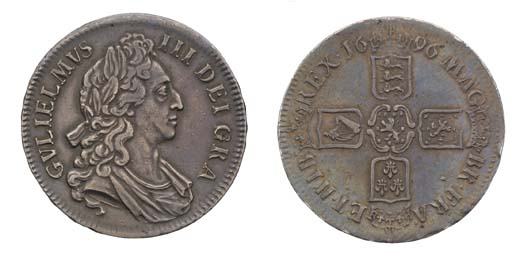 Crown, 1696, by James Roettier