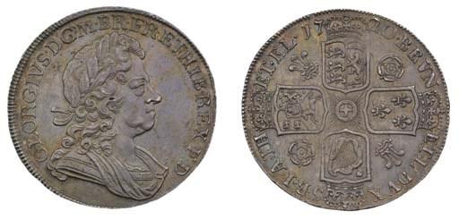 Crown, 1720, by J R Ochs, laur