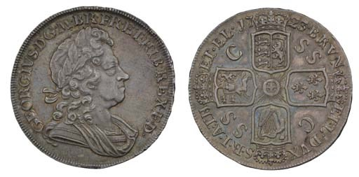 Crown, 1723 SSC, by J R Ochs,