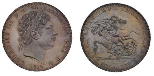 Crown, 1818 LVIII, by Benedett