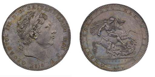 Crown, 1818 LIX, by Benedetto