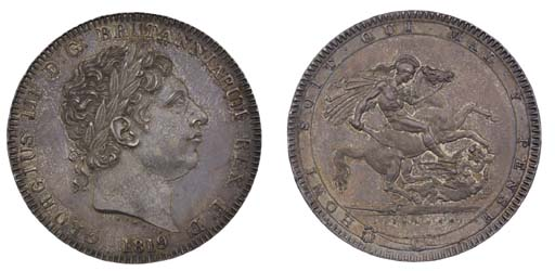 Crown, 1819 LIX, by Benedetto