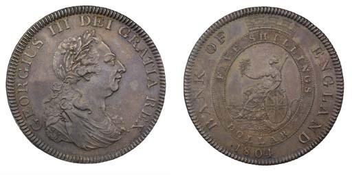 Bank of England Dollar, 1804,