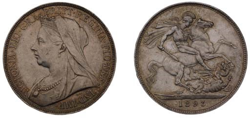 Crown, 1893 LVII, by Thomas Br