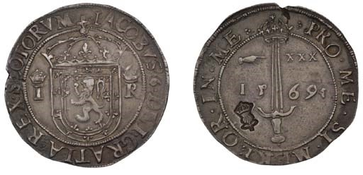 First coinage, Ryal or 'Sword-