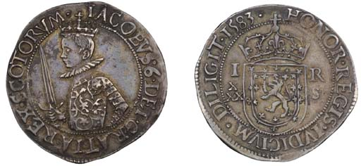 Fourth coinage, Thirty shillin