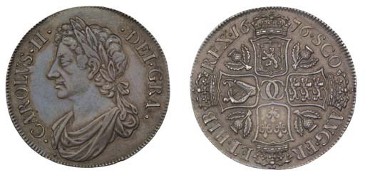 Dollar, 1676, second coinage,
