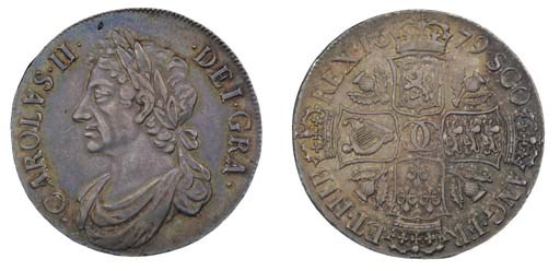 Dollar, 1679, second coinage,