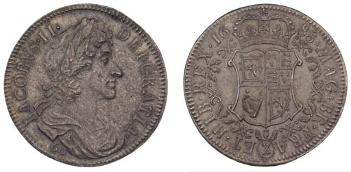 Pattern Sixty Shillings, 1688,