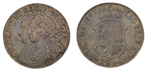 Sixty Shillings, 1691, conjoin