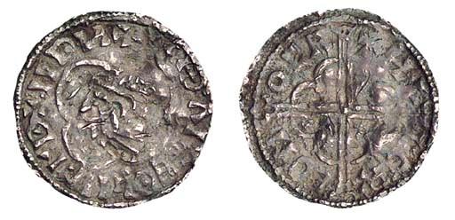 'Quatrefoil' with bust left, '
