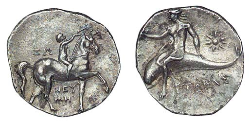 Ancient Greek Coins, Italy, Ca