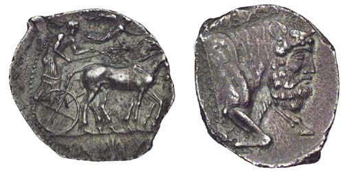 Ancient Greek Coins, Sicily, G