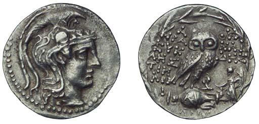 Ancient Greek Coins, Attica, A