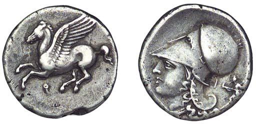 Ancient Greek Coins, Corinth,