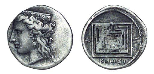 Ancient Greek Coins, Crete, Kn